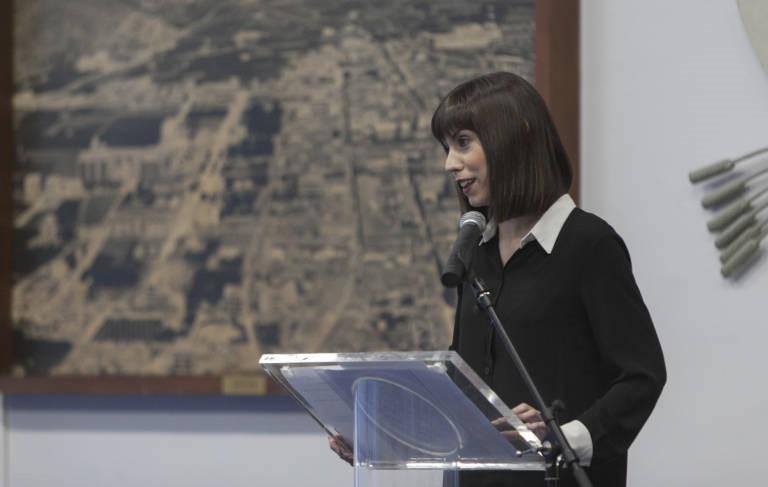 La alcaldesa de Gandia en la presentación de la 42 Edición del Concurso Internacional de la Fideuà De Gandia y Gastronomía